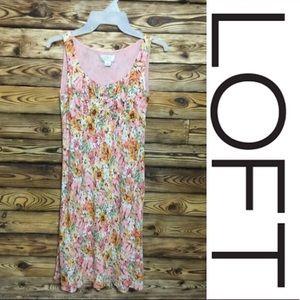 NWOT Ann Taylor LOFT Floral Summer Dress Sz 0